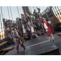 Pirater intar Bohus Fästning!