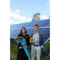 Nu är Runös solcellsanläggning invigd!