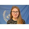 Hulda fra Ullevål blogger for FN
