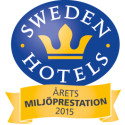 Sweden Hotels Gala 2015 - nomineringar Årets Miljöprestation 2015