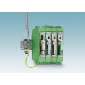 Multi-point multiplexer for process us