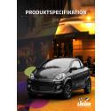 Produktspecifikation för mopedbilen Ligier JSRC
