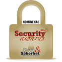 Säkra finalister i Security Awards 2014