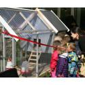 Hønsehusindvielse på Langagergård Plejecenter