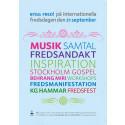 Fredsfestival i Uppsala - på Fredsdagen 21 september