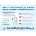Nyhet! Byggrapporten.se med ovanligt användbart innehåll som ger dig rätt beslutsstöd och bättre förutsättningar inför 2016!
