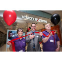 Porthill stroke survivor helps Vision Express unveil its upgraded Hanley store
