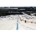 200 000 m3 snö formas till Sveriges största Snowpark!