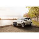 Ford Fiesta väriltään Silver Silk