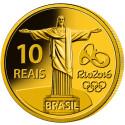 Brasiliens officielle OL-mindemønt støtter national og international idræt