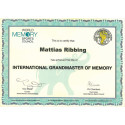International Grandmaster of Memory