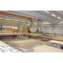Svensta huskomponenter AB bygger huselement och monteringsfärdiga hus i Hantverkshuset i Svenstavik