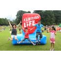 SG50 Family Picnic @ the Istana - Families having some outdoor fun!