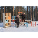 Ny IKEA kollektion i massivt furu från de norrländska skogarna