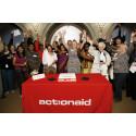 ActionAid har granskats och godkänts av Charity Ratings Givarguide!
