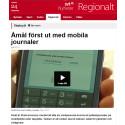 Åmål först ut med mobila journaler som testats av Nordic Medtest