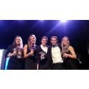 Julia, Hanna, Jacob, Lucas och Johanna är Europas bästa truppgymnaster