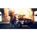 Kung Furys DeLorean på Springmeet - 2015