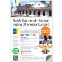 Katrineholm central blir ingång till Sveriges Lustgård