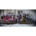 Aktiv vinterferie på Sagene i Oslo samler mange barn fra Bjølsen skole.