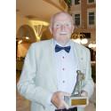 Rune Andreasson, Brottsofferjouren i Vänersborg-Dalsland, tilldelas Brottsofferpriset 2013