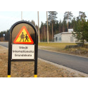 Trafiksäkerhet i fokus på Växjö internationella grundskola