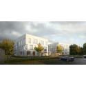 Vattenfalls kontor i Luleå börjar ta form