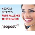 Neopost receives P&Q challenge accreditation