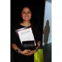 Siah Javaheri utsågs till den första pristagaren av Oriflame Trend Award.