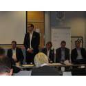 Barasparas Markus Winfridsson i nordisk paneldebatt om framtidens elmarknad