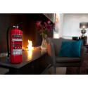 Brandsläckare 6 kg pulver Housegard 55A röd
