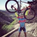 Efter en grym etapp är nu våra cykelhjältar framme i en liten ort som heter Cloudscroft och som ligger på 2700 meters höjd i New Mexico.