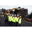 Empty properties demolished to improve residential area
