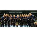 EM-guld till svenska damlaget i truppgymnastik, silver i herrklassen, brons i mixedklassen (uppdaterat)