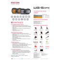 Ricoh WG-5 GPS, specifikationer
