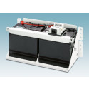 Sikker installation af industrielle UPS batterier