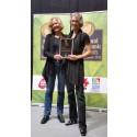 Organic Food Lifetime Achievment Award till Ekomatcentrum