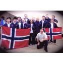 Knusende VM seier med stokker og kniver til Norge