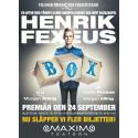 Intresset är stort för Henrik Fexeus och kommande föreställningen BOX, nu släpps ytterligare nio föreställningar till Maxim Teatern i höst