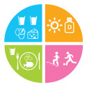 Vahvan luuston kulmakivet: Kalsium, proteiini, D-vitamiini sekä liikunta ja kaatumisen ehkäisy