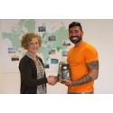Siavosh Derakhti får IM-priset