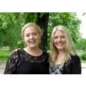 GYFs studentpris på 25 000 kr till Esmeralda Säll och Anna Sörbom, högskolan Dalarna
