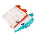 Storleksmärkt förvaring för sparade barnkläder
