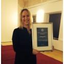 Eldsjäl prisas på Gyncancerdagen 2015 i Malmö