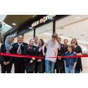 Young Peterborough eye cancer survivor helps Vision Express open newly refurbished store