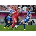 Per leder Hertha mot Guardiolas stjernegalleri