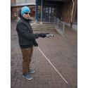 Laser i handen hjälp för synskadade