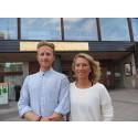 Markus Karlsson och Josefin Nilsson, pristagare Pedagogiskt pris 2014. Foto: Örebro kommun