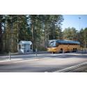 Ny tidig busstur från Sjöbo mot Malmö