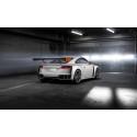 Audi TT clubsport turbo silver grey rear right side indoor
